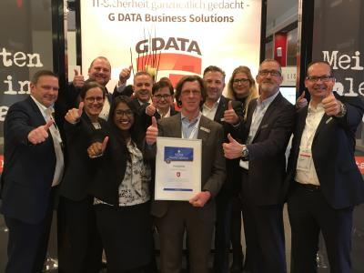 Daumen hoch: G DATA erhält den Champion Award