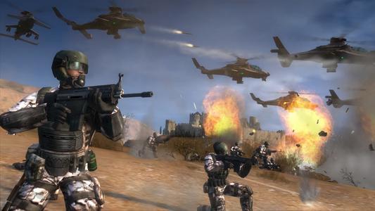 EndWar Screenshot LaMancha JSF battle