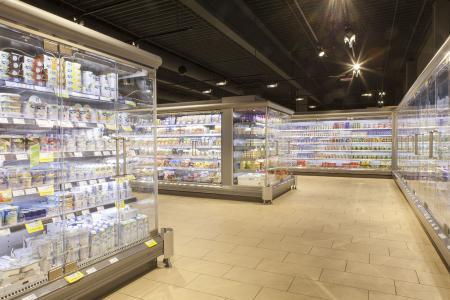 CoolStar Türen von DoubleCOOL sind ein Highlight in jedem Supermarkt / Foto: DoubleCOOL