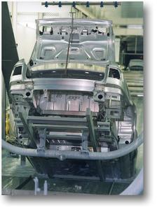 Lackieranlage der Audi AG: INTERPLAN erstellte die gesamte technische Planung