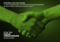 ECM-Tag: komplettes Vortragsprogramm, wichtige Informationen und Anmeldeformular
