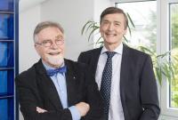 v.l.n.r. Rainer von zur Mühlen, Firmengründer Peter Stürmann, Geschäftsführer  VZM-Gruppe