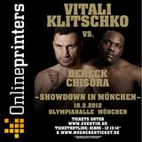 Online print shop sponsors boxing fight (Copyright: Klitschko Management Group GmbH)