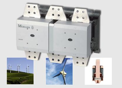 Schalten im Vakuum: Elektronisch gesteuerte Leistungsschütze DILH für Windenergieanlagen