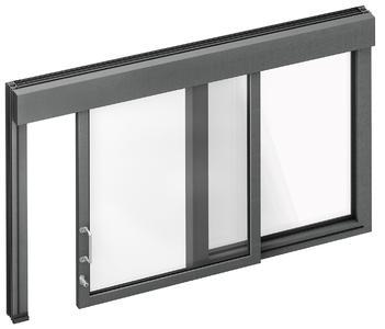 Qualitätsprodukte von Baier: Schiebefenster in unterschiedlichen Ausführungen