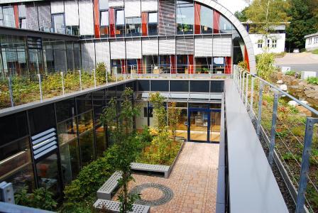 """Der multifunktionale Systemaufbau """"Dachgarten"""" ist ideal für alle Varianten der Intensivbegrünung."""