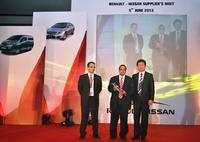 "Renault Nissan honors MAG as ""Best Capital Equipment Supplier 2013"""